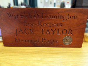 The Jack Taylor Plaque