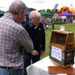 Leamington beekeepers at the Observation Hive