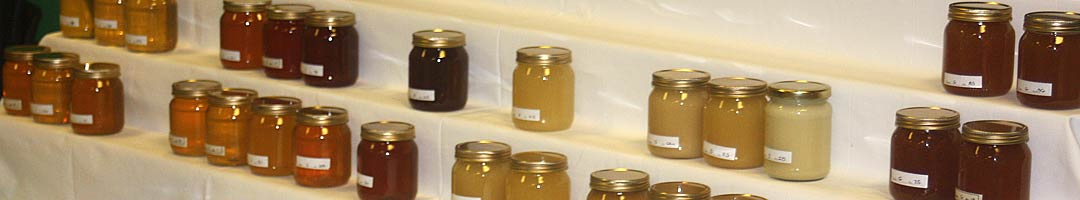 Honey Show honey entries